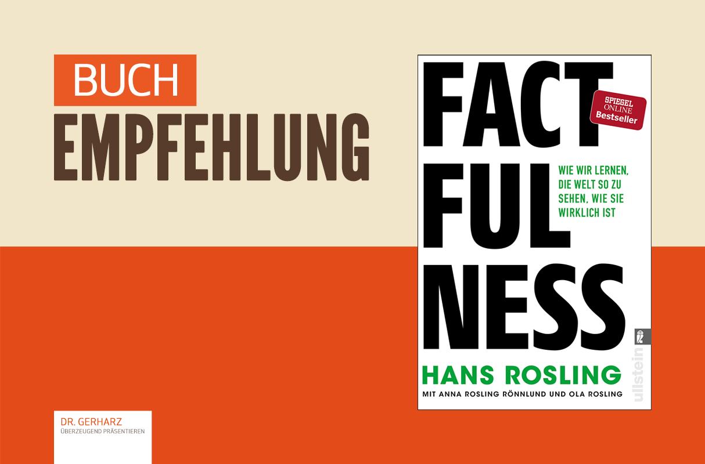"""Buchempfehlung: """"Factfulness"""" von Hans Rosling"""