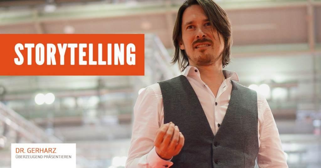 Storytelling-Tipps von Dr. Gerharz