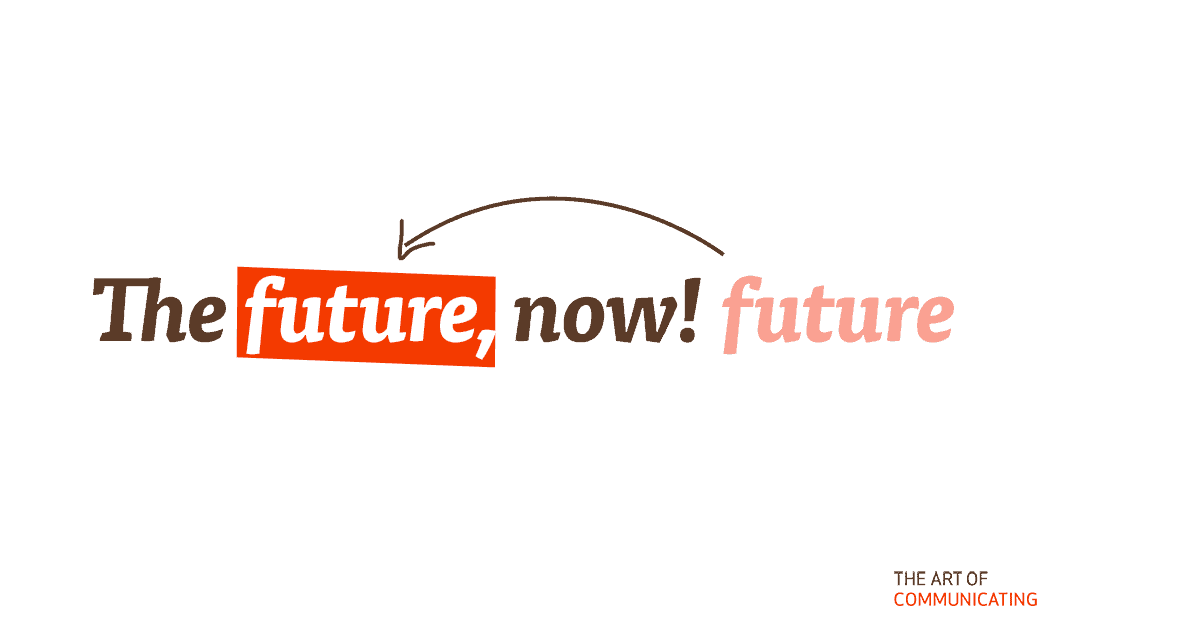 The future, now!