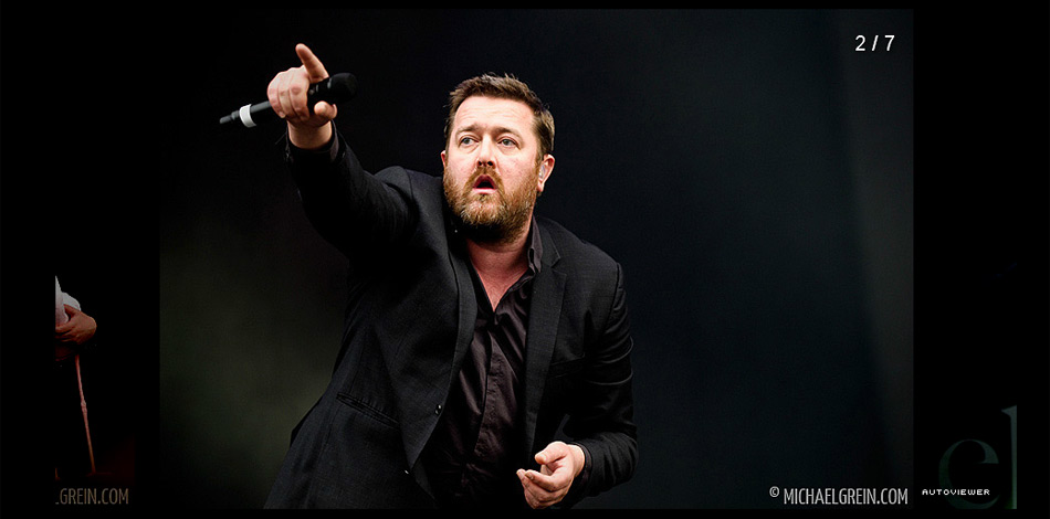 Elbow Live At Pinkpop Festival 2011 Michael Grein Live