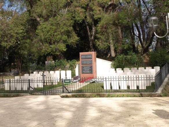 English Cemetery, Tirana Park