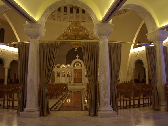 Cathedral of the Resurrection of Christ, Tirana - View from main entrance