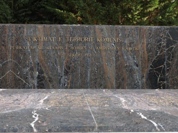 Tirana Martyr's Cemetery - Fascist Memorial
