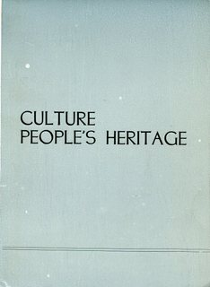 Culture - People's Heritage