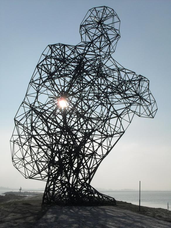 Exposure - Antony Gormley, Lelystad, Holland