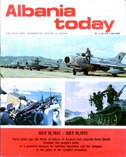 Albania Today Vol 2 No 3 (10) 1973 May-June