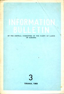 Information Bulletin 1969 No 3 - Part 1