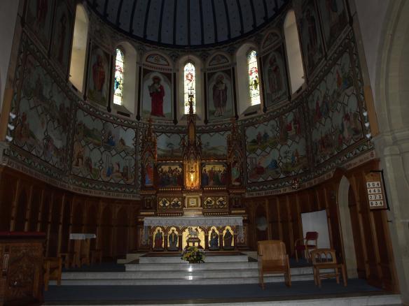 Altar St Hedda's Church, Egton Bridge
