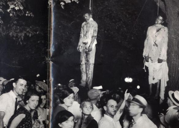 'Strange Fruit' - Lynching in Indiana, 1930