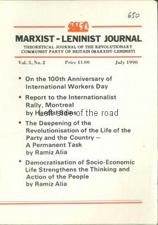 1990 Marxist-Leninist Journal, Vol 3, No 2, July 1990
