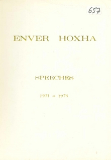 Speeches 1971 - 1973