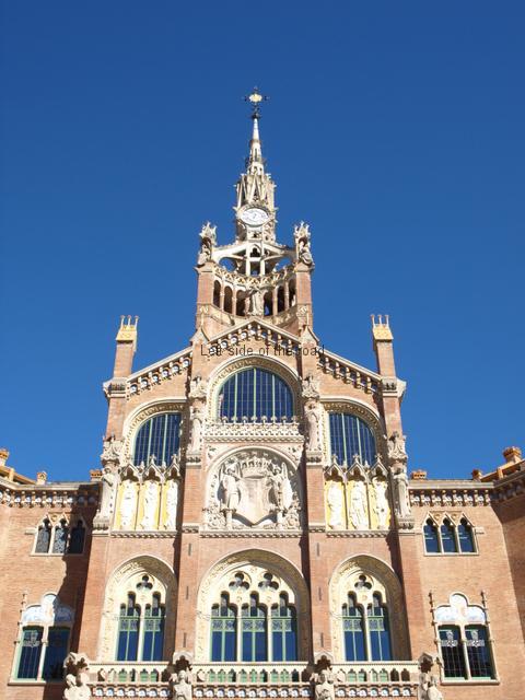 Hospital Santa Creu i Sant Pau - Administration Building