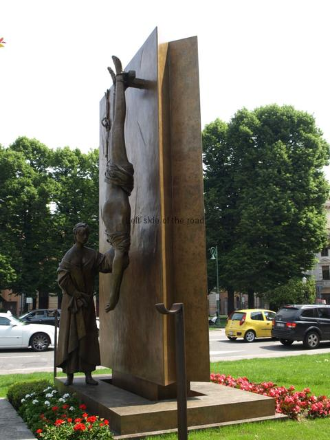 Monument to the Partisan - Bergamo