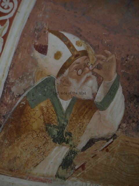 Saint with spectacles