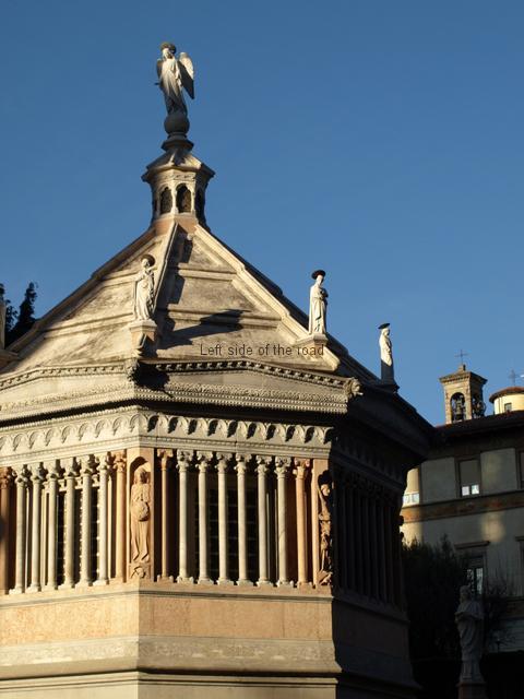 The Baptistery, Piazza Duomo, Città Alta