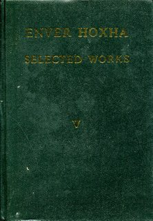 Enver Hoxha, Selected Works, Volume 6