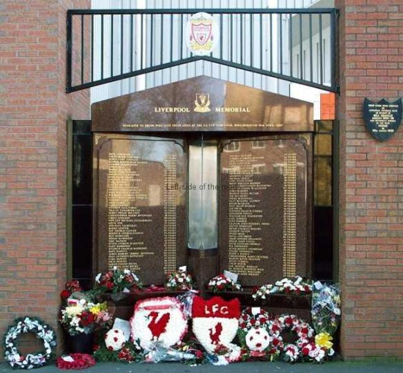 Hillsborough Memorial - LFC Anfield