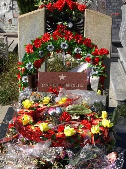 Enver Hoxha's Grave October 2014