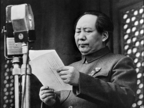 Mao Tse-tung October 1949