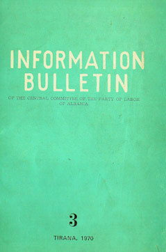 Information Bulletin No 3 1970