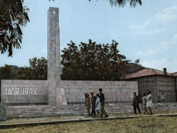 Peze Conference Monument in happier days