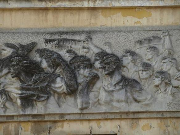 Tobacco Factory Strike Bas-Relief - right
