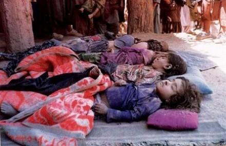 Murdered children in Afghanistan