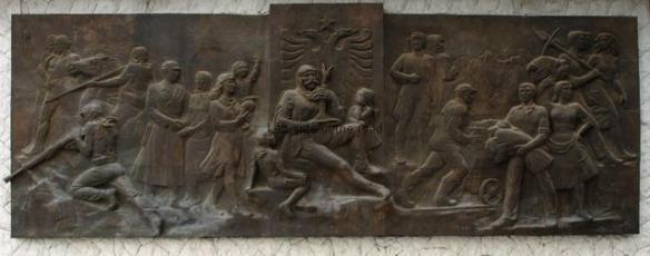 Bas Relief - Bajram Curri