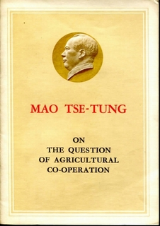 On the question of Agricultural Co-operation