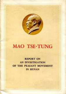Report on an Investigation of the Peasant Movement in Hunan