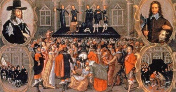 Execution of Charles Stuart, 30th January 1649