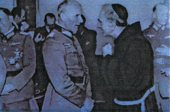 Catholic priest in league with Hitlerites