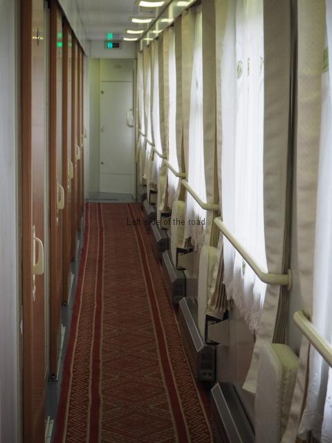 Soft Sleeper Corridor