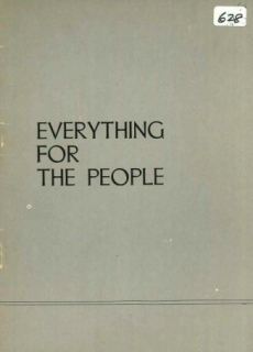 Everything for the People