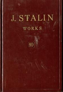 Works Vol 10 - 1927 August-December