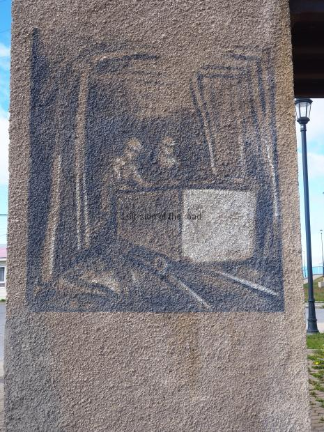 Miner's Monument - Puerto Natales - Sketches