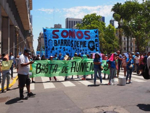 Barrios de Pie - Enough of the price rises