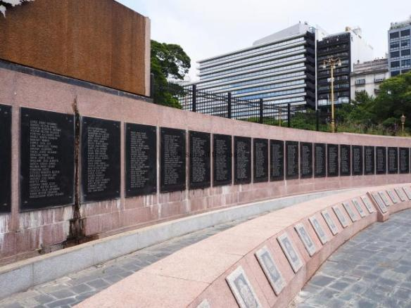 Malvinas Memorial - Buenos Aires