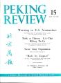 Peking Review 1962 - 15