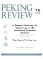 Peking Review 1963 - 25