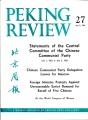 Peking Review 1963 - 27