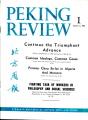 Peking Review 1964 - 01