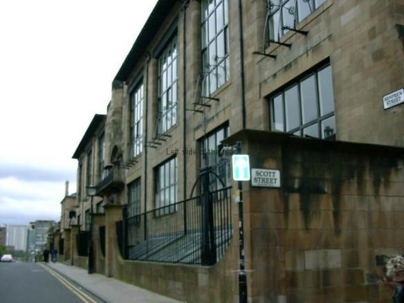Burnt School Facade - before