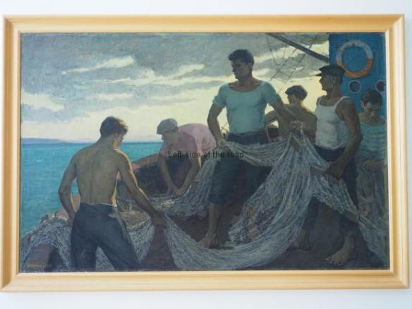 Abdulla Cangonji - The fishermen - 1965
