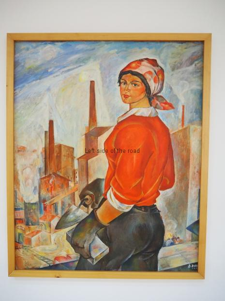 Bardhyl Dule - The construction woman -1971