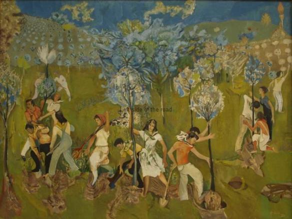 Tree Planting - 1971 - Edi Hila