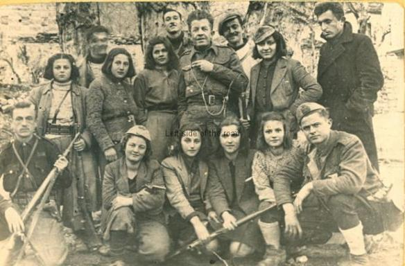 Mallakaster Partisans - possibly 1943