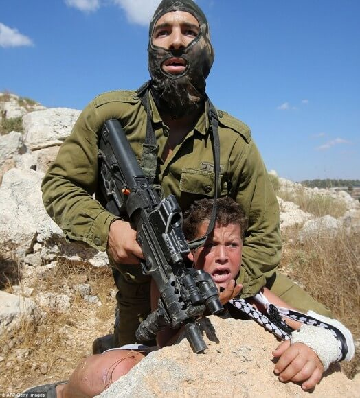 Israeli Army response to settler violence - torture the victims