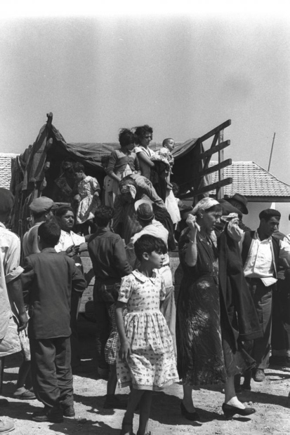 Moroccan immigrants in southern Israel