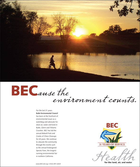 Butte Environmental Council ad
